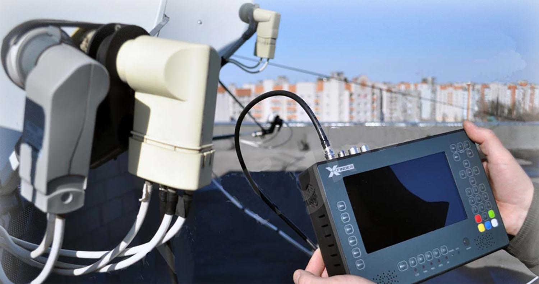 Монтаж спутникового оборудования