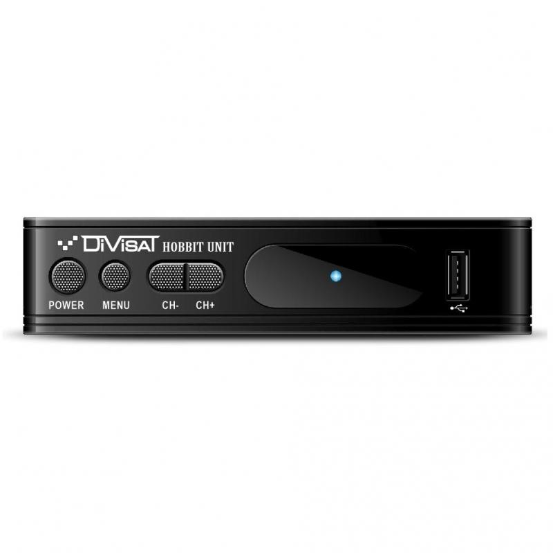 Цифровой эфирный DVB-T2 приемник DVS-HOBBIT UNIT III