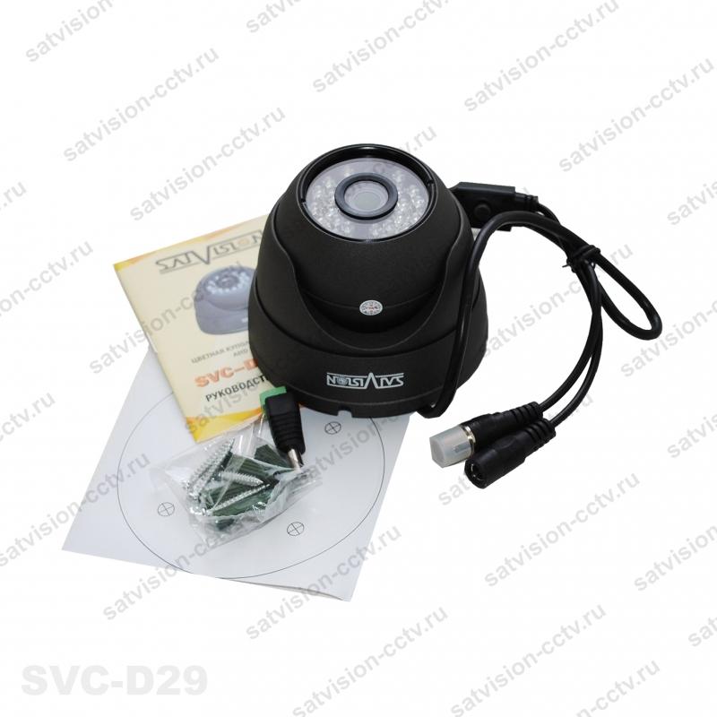 Видеокамера SVC-D29 3.6