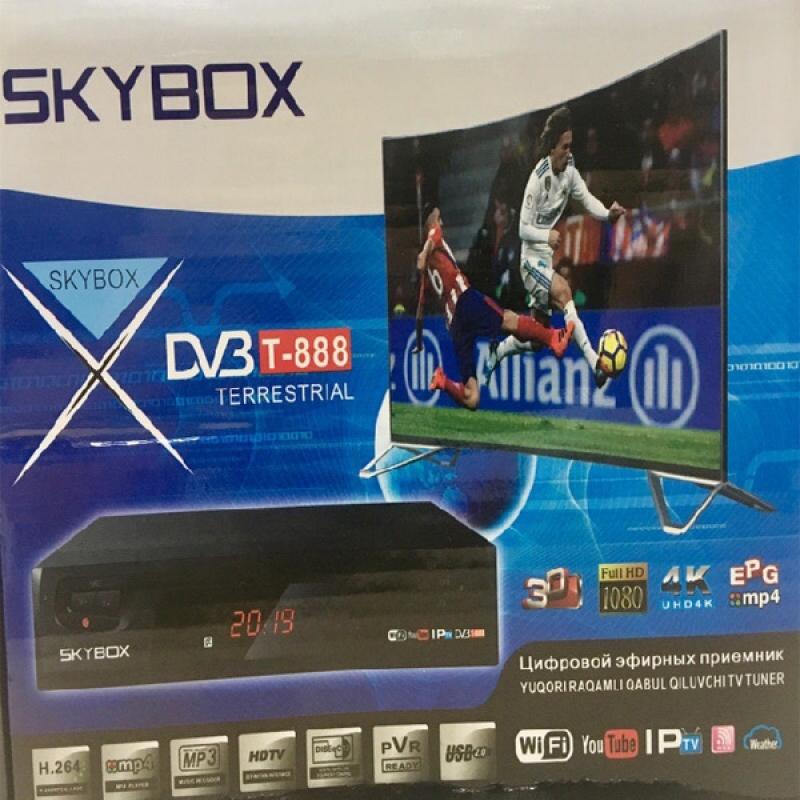 Эфирная цифровая don-t2 приставка Skybox 4K
