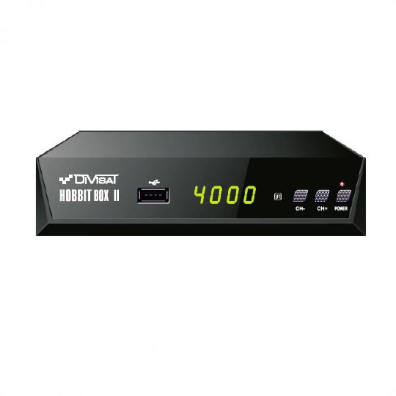 Цифровой эфирный DVB-T2 приемник DVS-HOBBIT BOX II