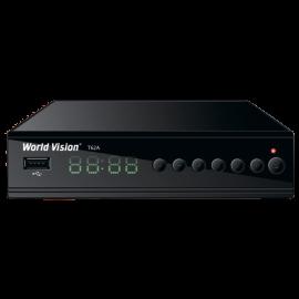 Цифровой эфирный DVB-T2 приемник World Vision T62A