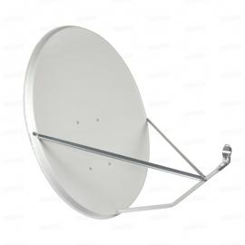 Антенна спутниковая с кронштейном 90 см. в комплекте + конвертер на 1 выход