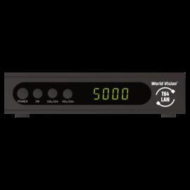 Цифровой эфирный DVB-T2 приемник World Vision T64LAN